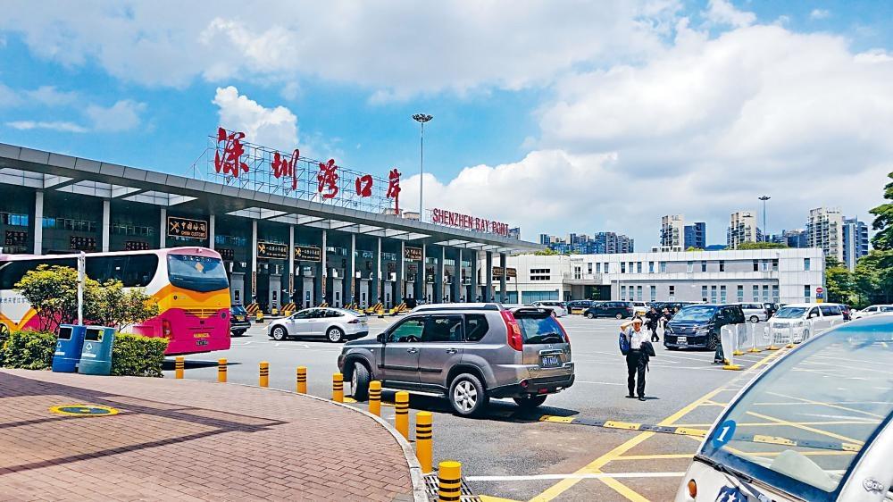 深圳灣口岸。 資料圖片