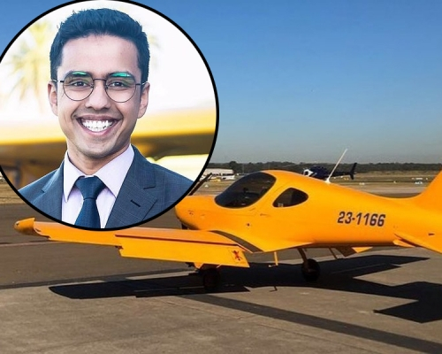 22歲仔被炒魷後用2.6萬開辦飛行學校 8年後坐擁逾3億
