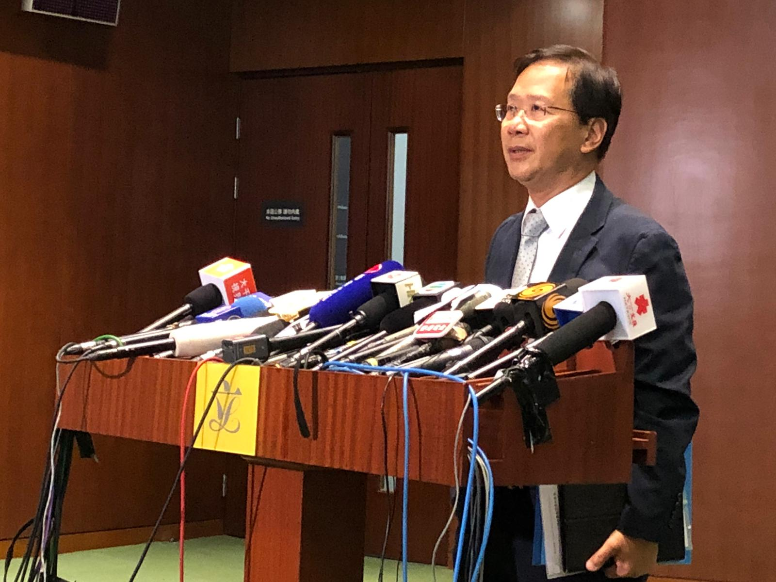 郭家麒被逐出會議廳。