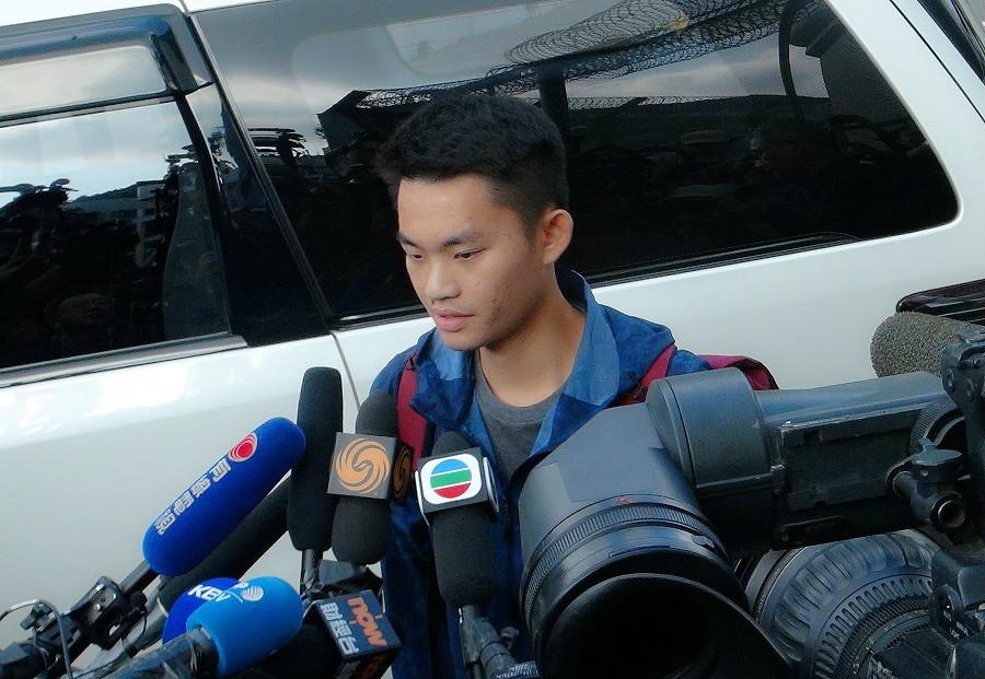 陳同佳已經出獄。