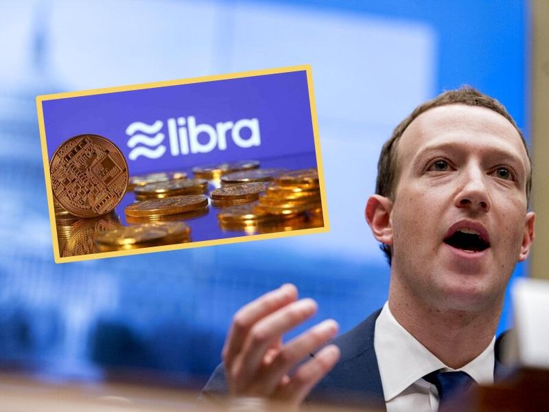 朱克伯格向國會保證,推相信Libra有助增強美國的金融領導地位。AP