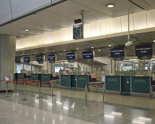 機鐵明午1時起僅停香港站及機場站 九龍站預辦登機全日?#21644;? title=