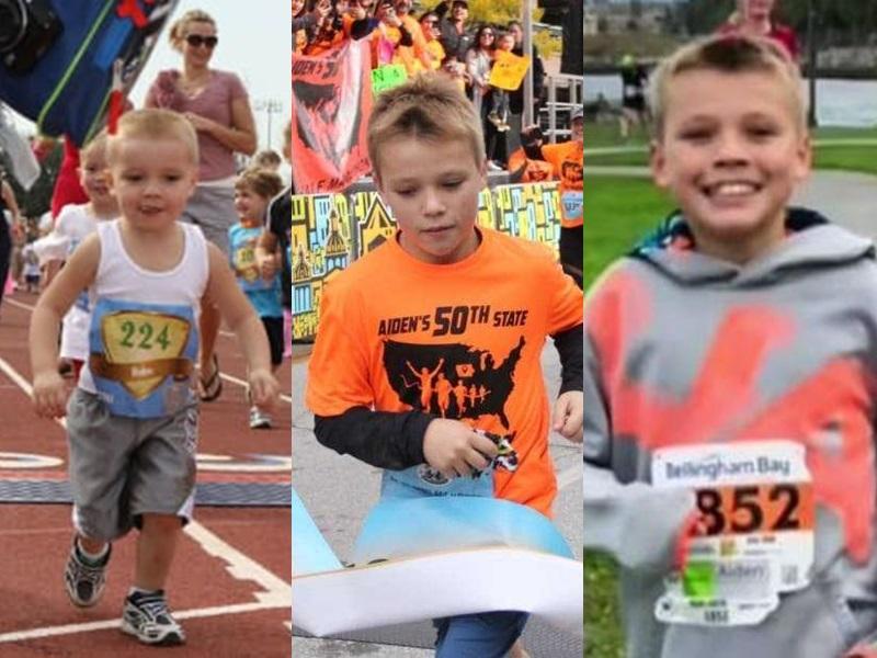 雅克從6歲開始便跑半馬拉松。網圖