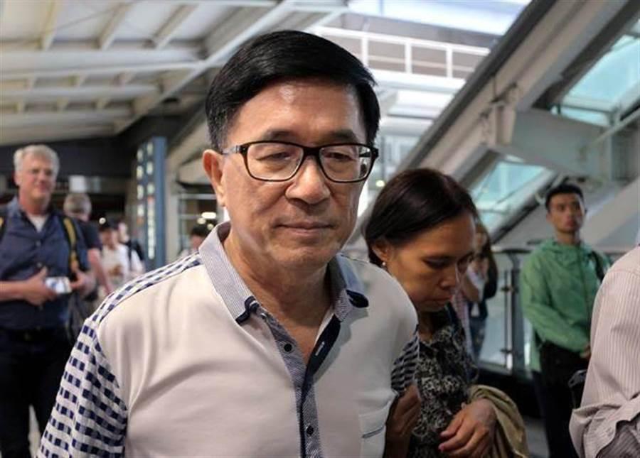 陳水扁認為應該先關押陳同佳。網上圖片