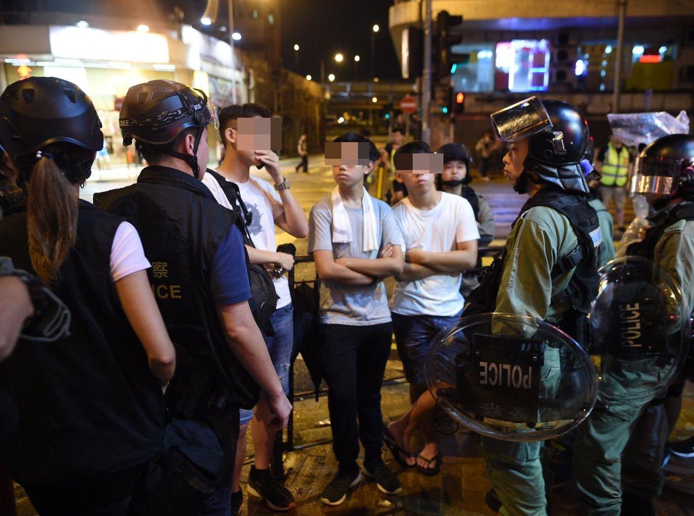 警方截查市民。資料圖片