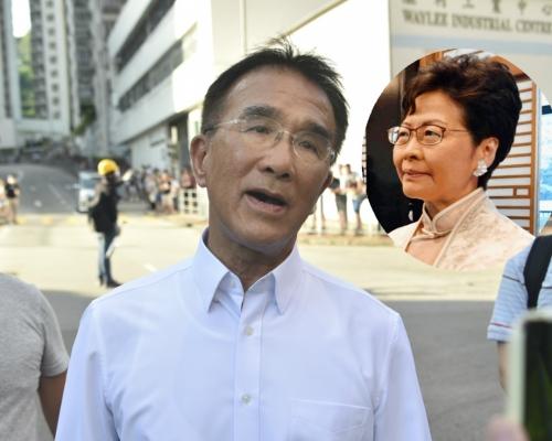 《彭博》引述田北辰:北京考慮明年初撤換特首