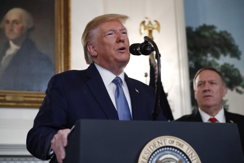 美國總統特朗普在白宮宣布土耳其已知會將會永久停火,他已指示解除對土耳其實施的經濟制裁。AP