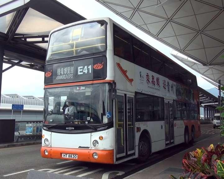 龍運巴士E線下午起不停機場及博覽館。 資料圖片