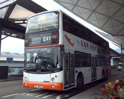 龍運E線巴士下午2時起改以東涌為終點站