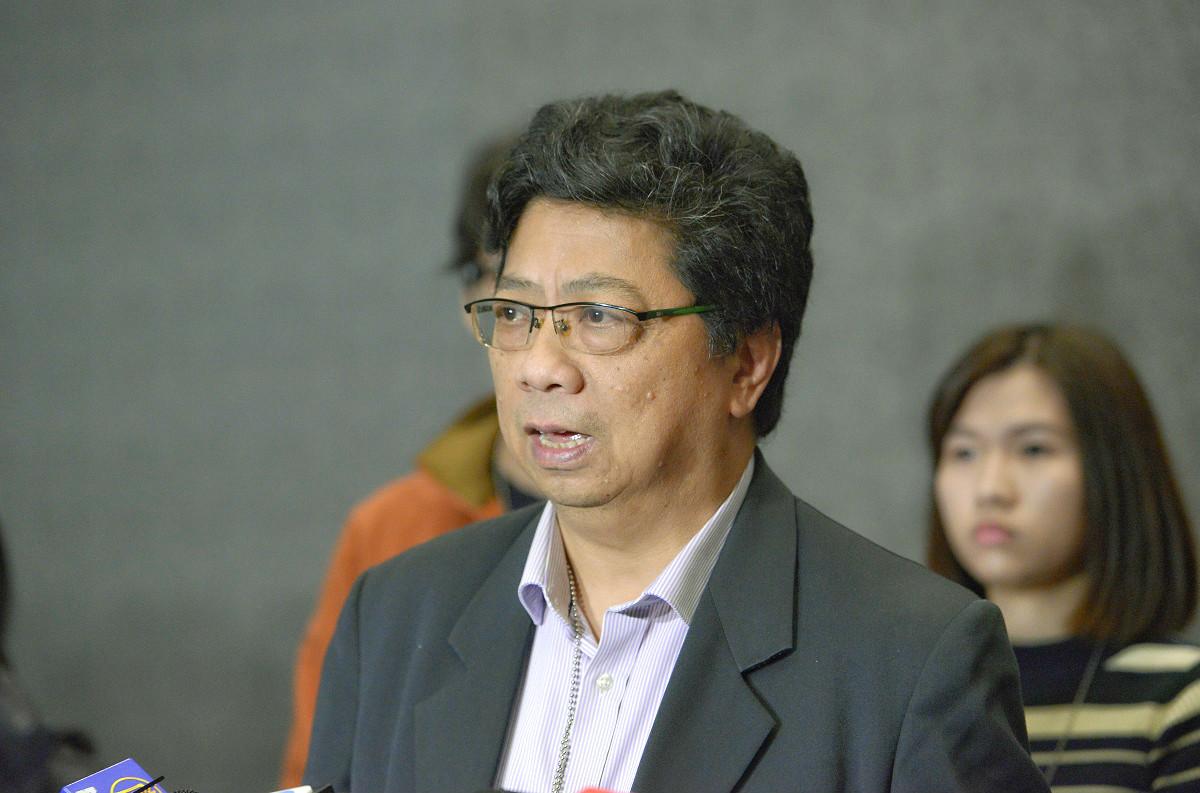 記協主席楊健興。資料圖片