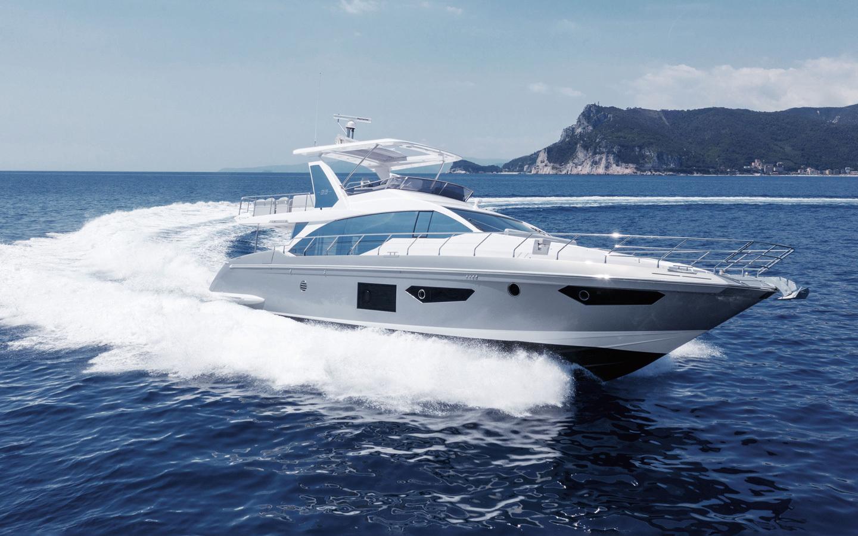 黎明購入的豪華遊艇是國際知名意大利品牌。網上圖片