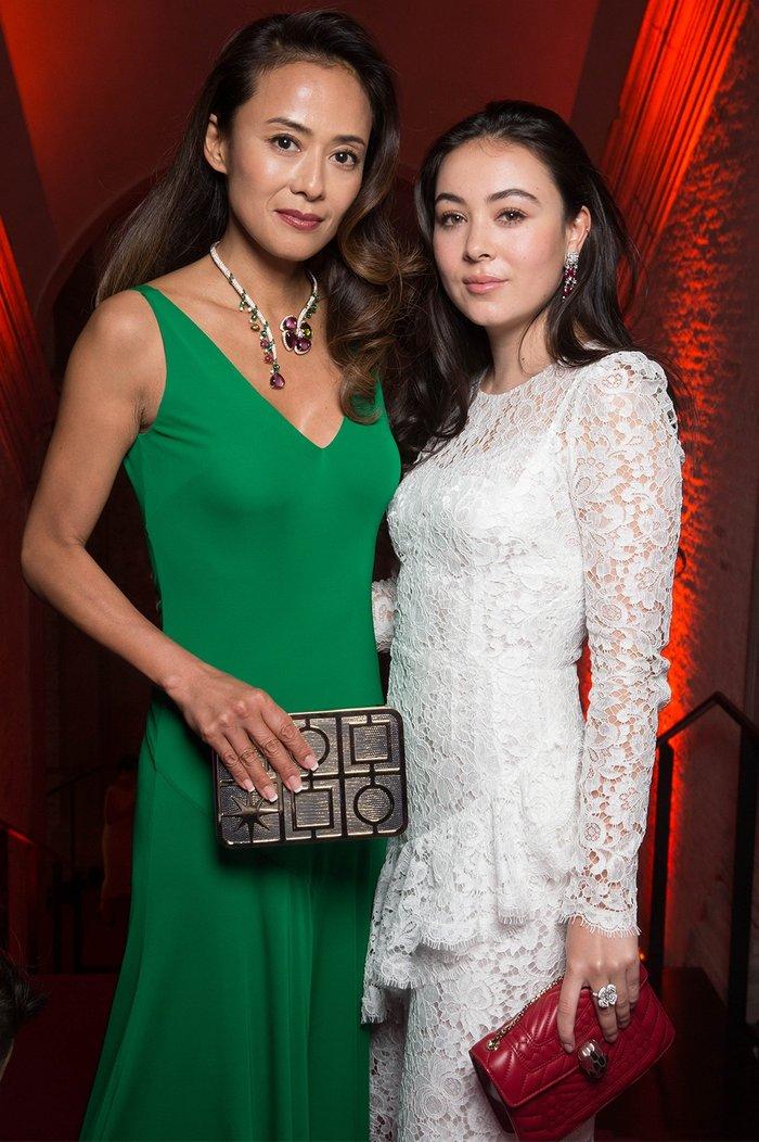 Elena與媽咪後藤久美子近期頻頻一齊亮相。