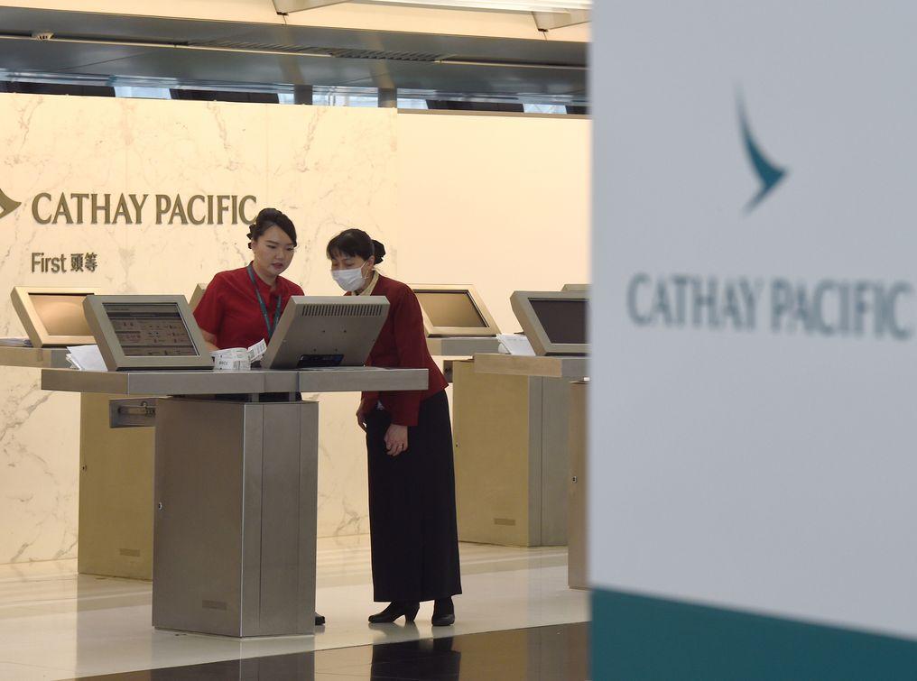 國泰將向合資格員工提供免費機票。資料圖片