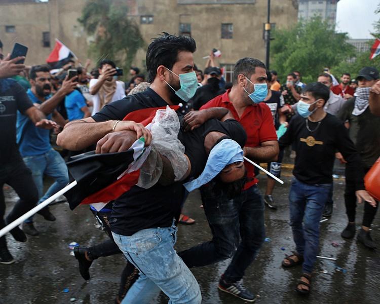 巴格达及中南部多个城市爆发新一轮示威抗议。