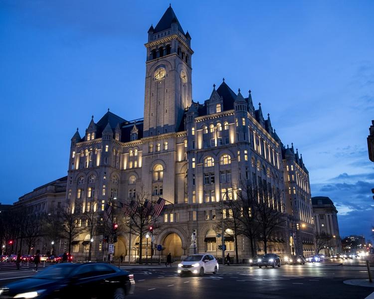 特朗普国际酒店可能会被出售。