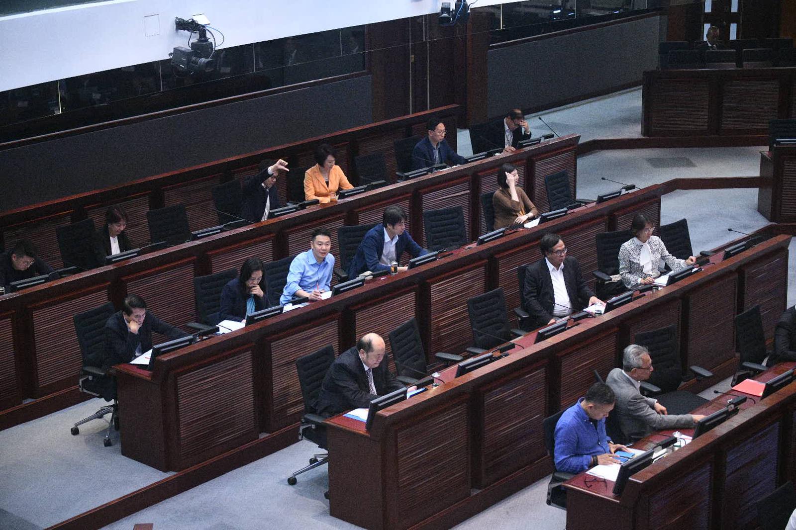 立法會《禁止蒙面規例》小組委員會召開第二次會議