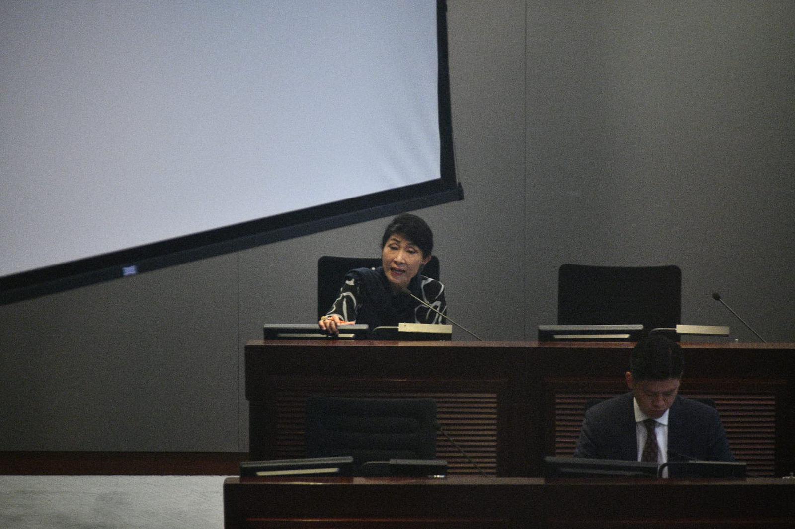 毛孟靜批評黃定光言論誣衊新聞界