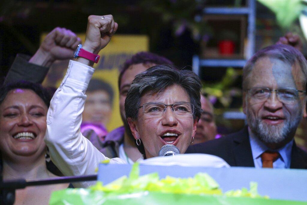 洛佩斯当选哥伦比亚第一位女市长。