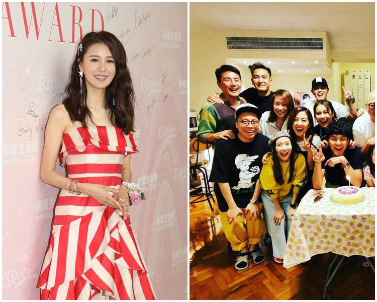 黃翠如透露唐詩詠幫她約洪永城出席生日會。