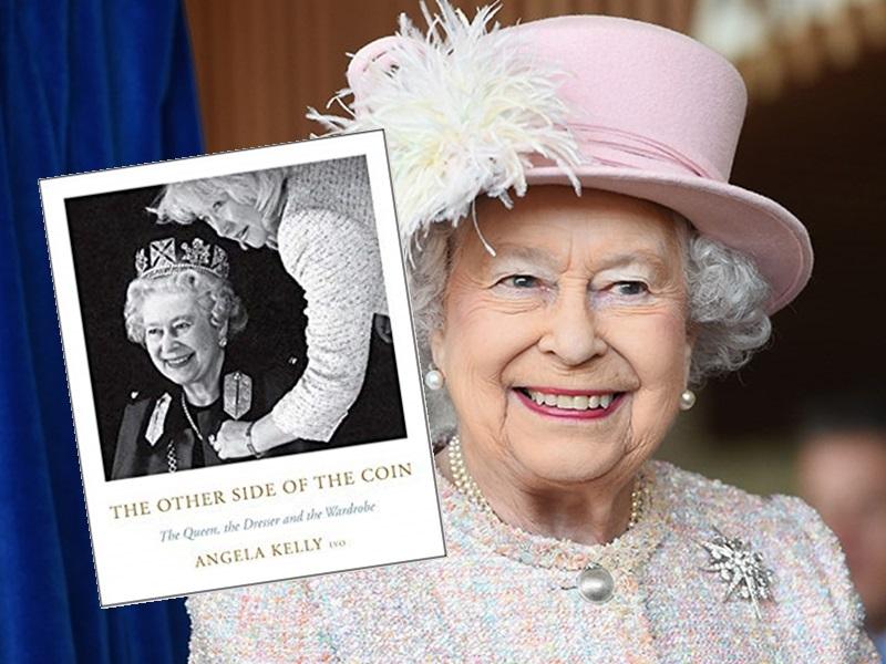 英女皇的衣橱秘密将会面世。/网图