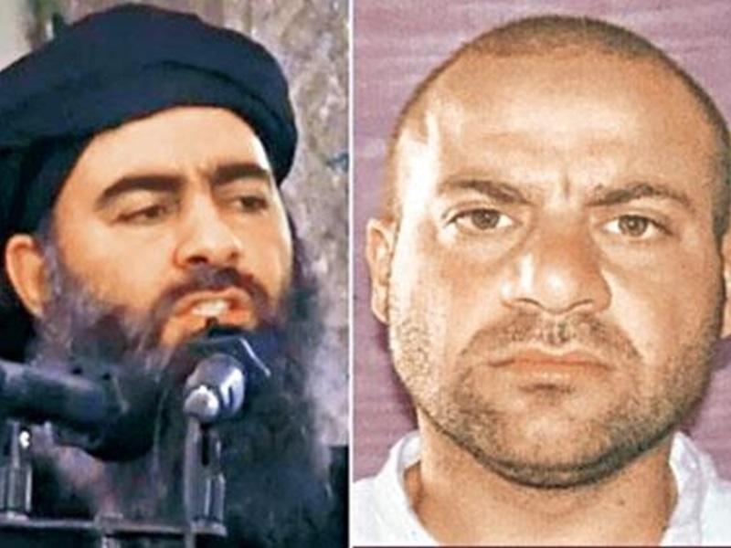 传巴格达迪(左)生前钦点接班人为卡达什(右)