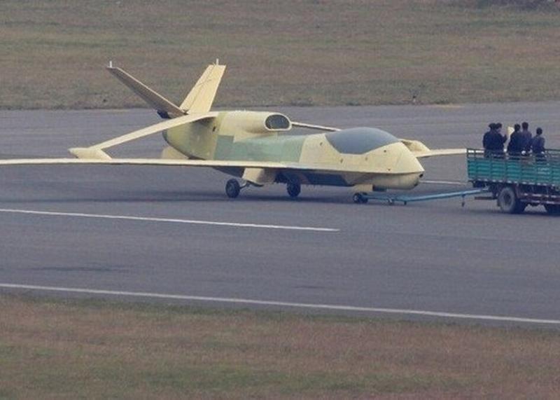 韓媒指中方在吉林部署多部翔龍戰略無人機。(網圖)