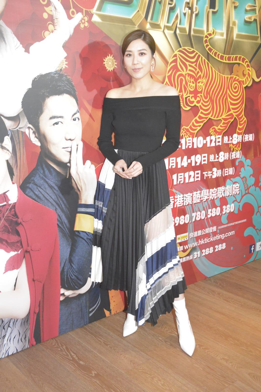 黃智雯今次是首度演出舞台劇。