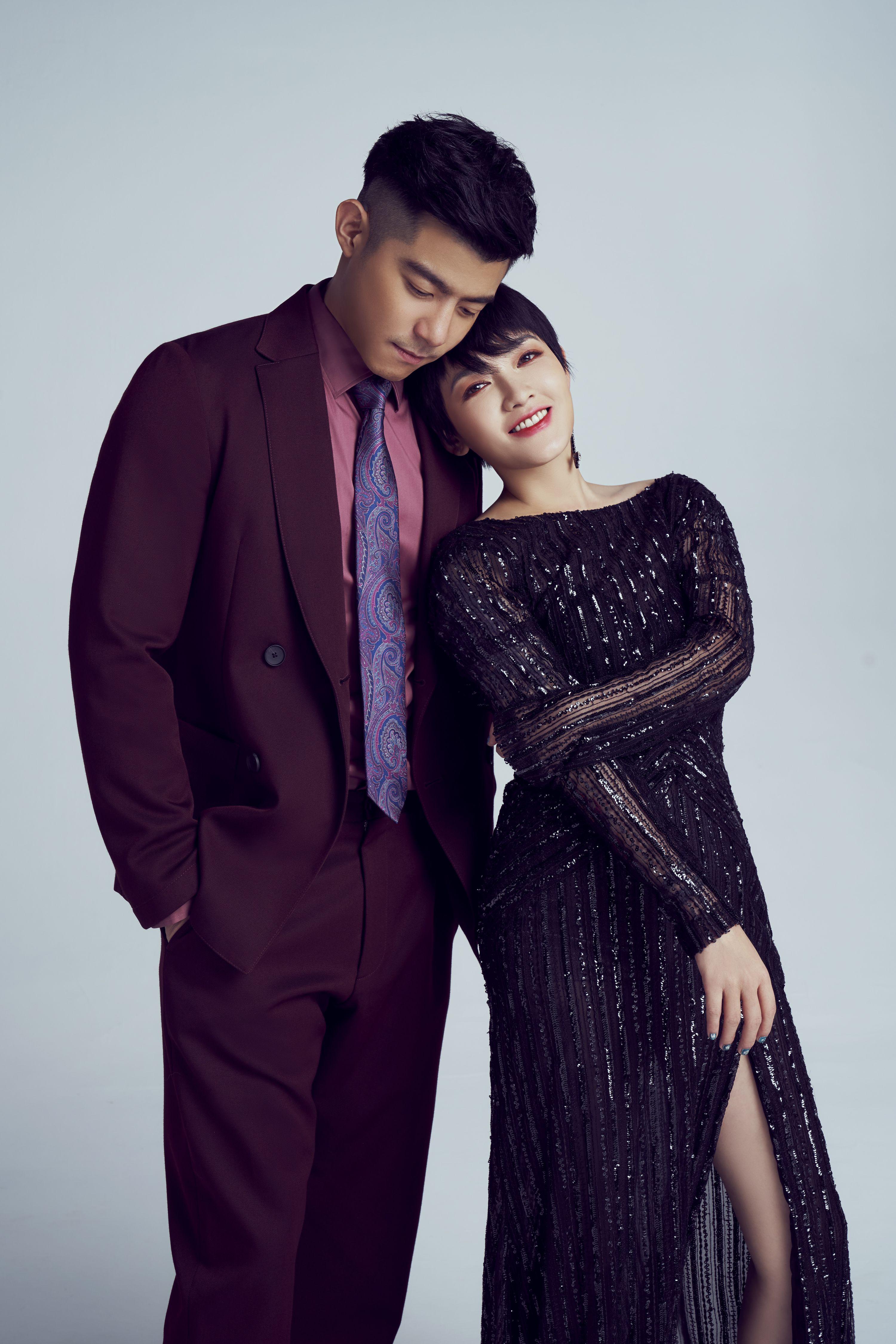 小萱和柏傑雖年齡相差12歲,但外型上完全看不出兼相當合襯。
