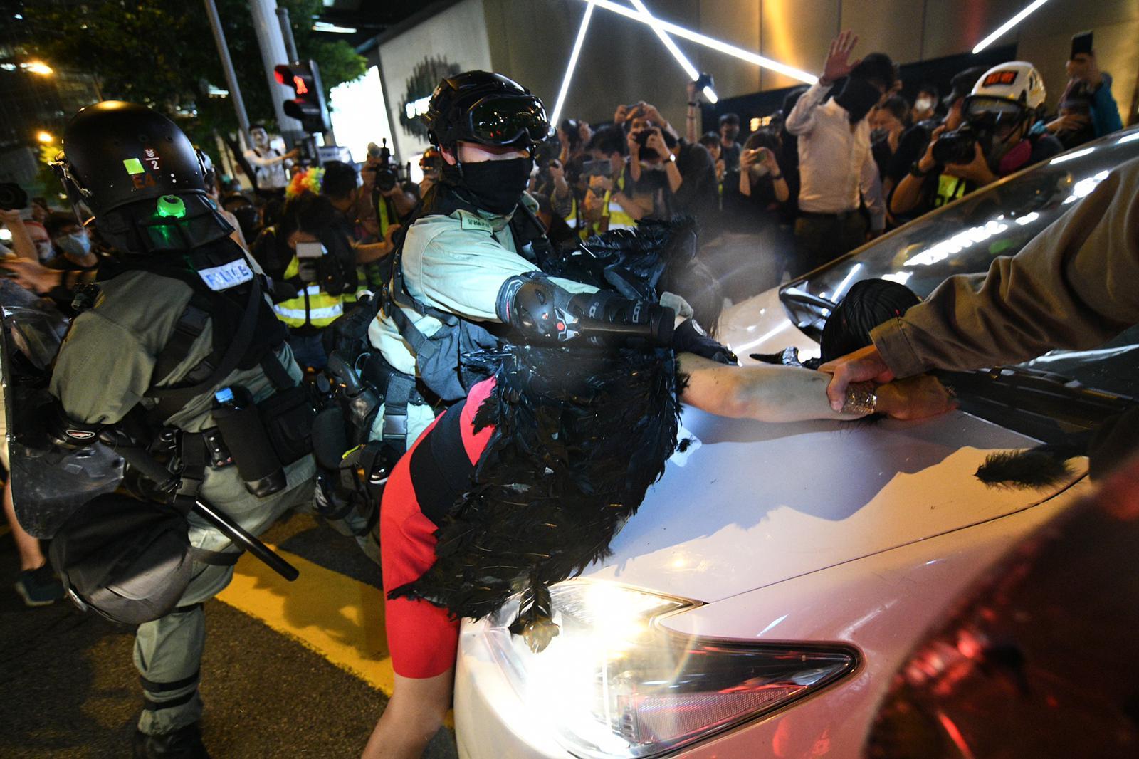 本港示威衝突持續不斷