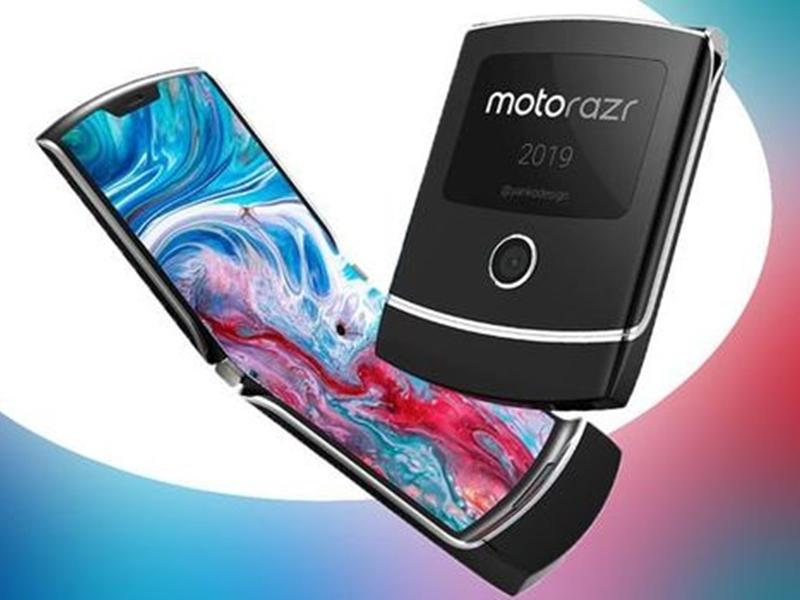 Motorola也將迎來自家摺疊手機Razr。 網圖