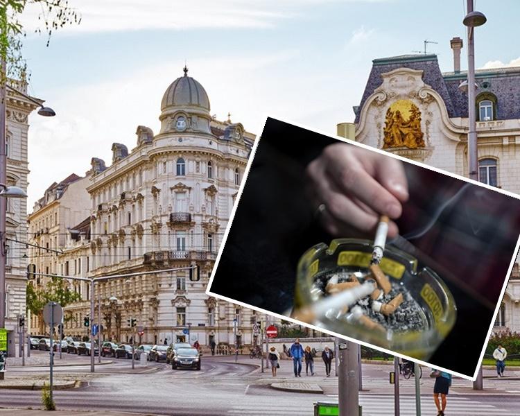 奧地利酒吧和餐廳的禁煙令11月1日起正式生效。網圖