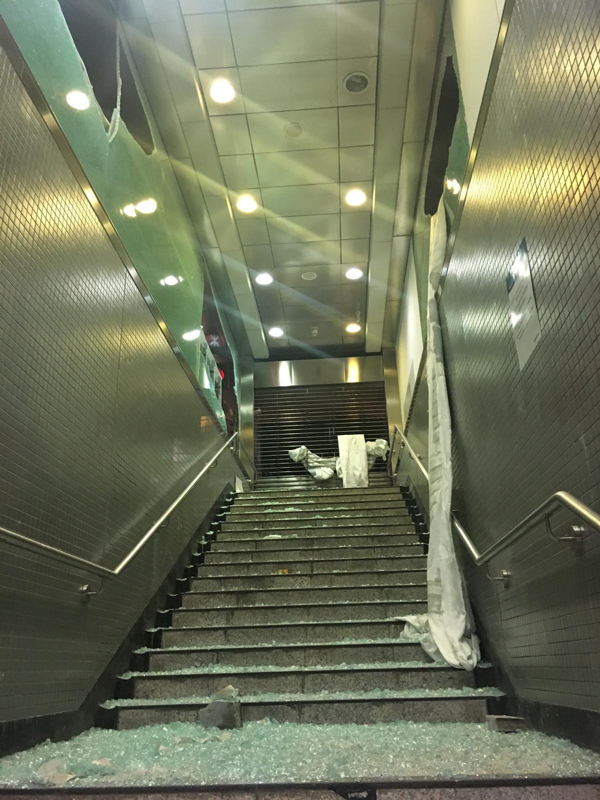 中環站 J 出入口。港鐵提供