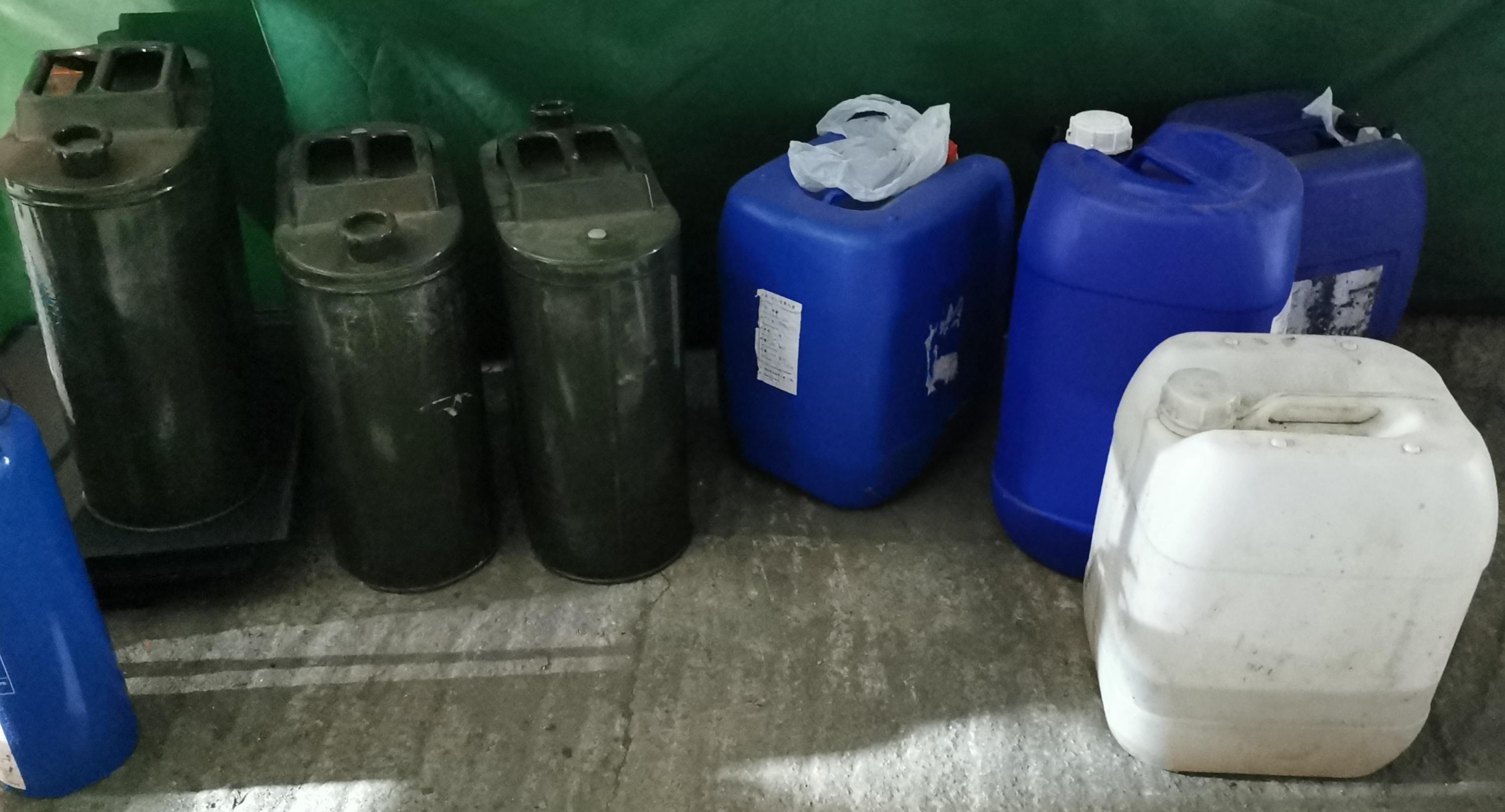 【修例風波】涉向酒家擲催淚彈 警拘38歲男橫洲破汽油彈廠