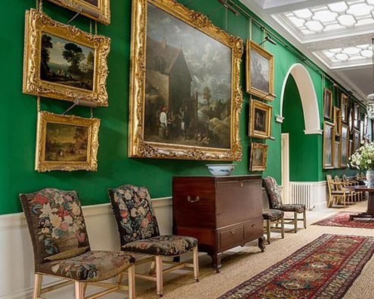 鄧弗里斯大宅掛有不少藝術收藏品。網圖