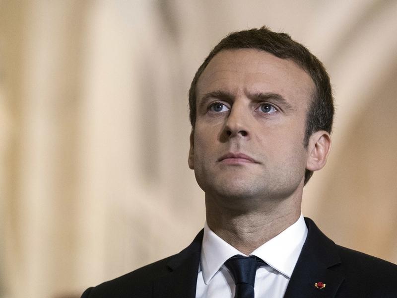 第二屆中國國際進口博覽會後日在上海召開,法國總統馬克龍應邀出席。 AP