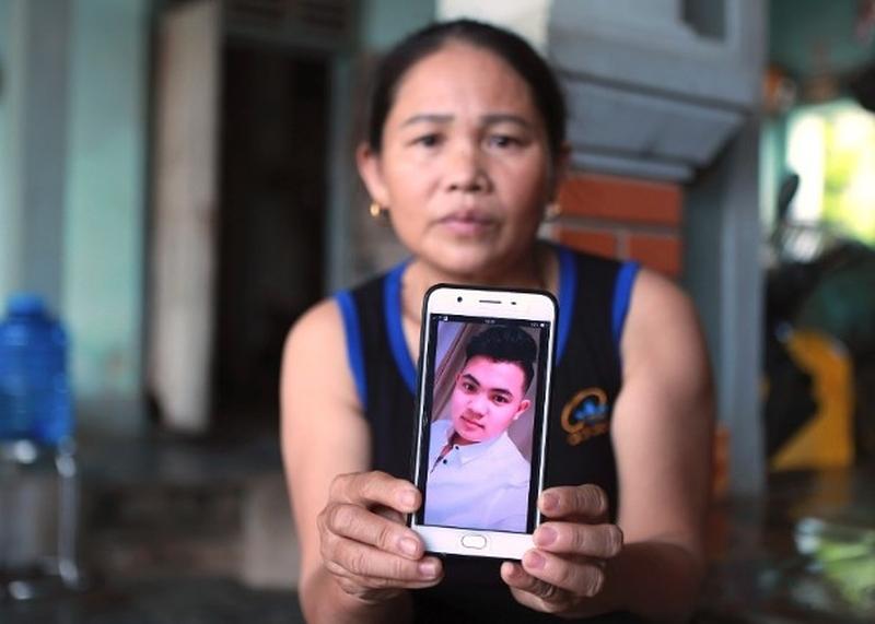 多個越南家庭報稱有親人前往英國後失蹤。AP
