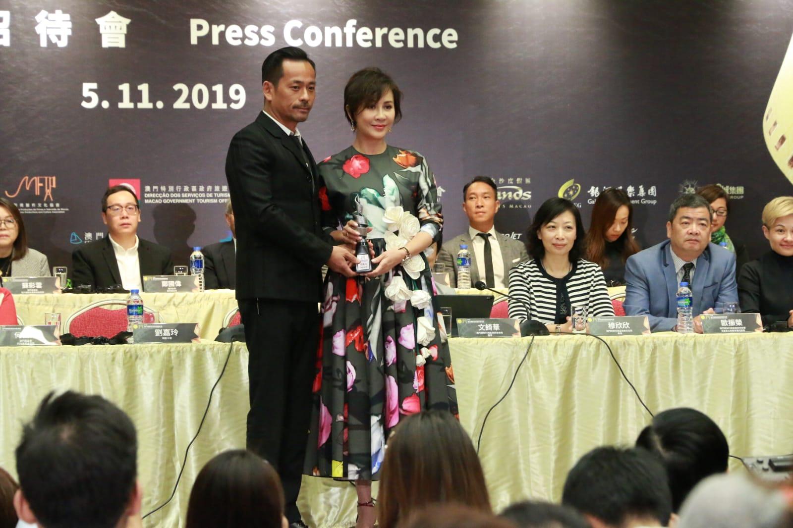 劉嘉玲今次擔任影展明星大使之一。