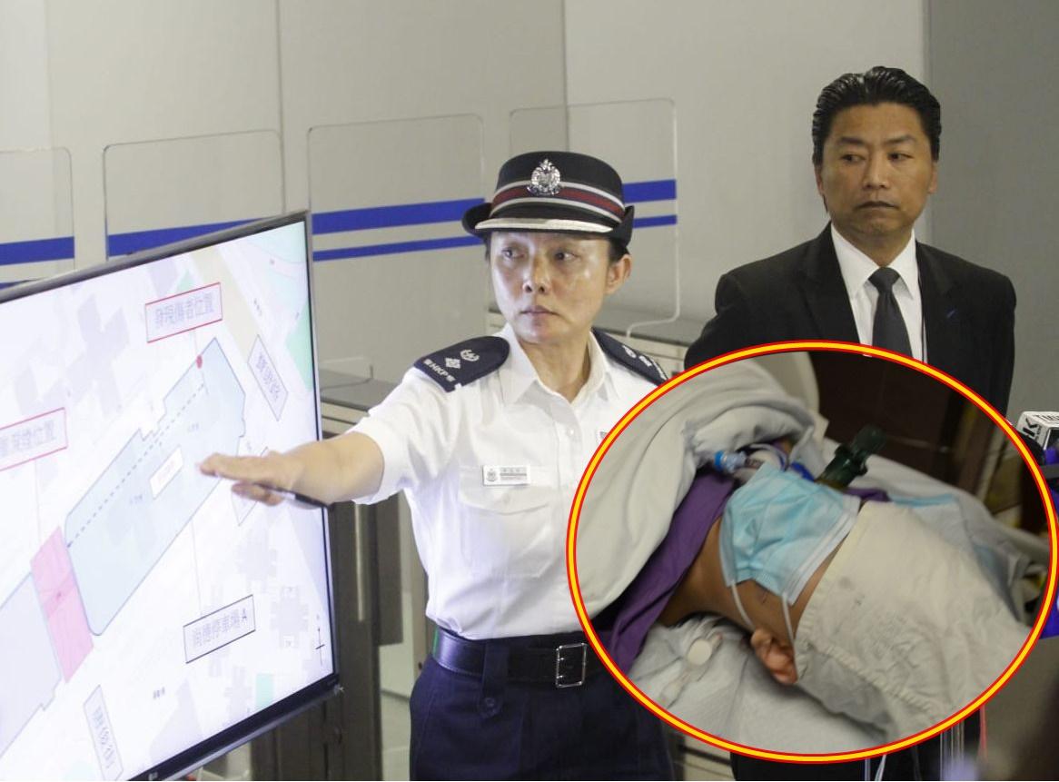 否認科大生被警員推落樓 警:令人難過的事件