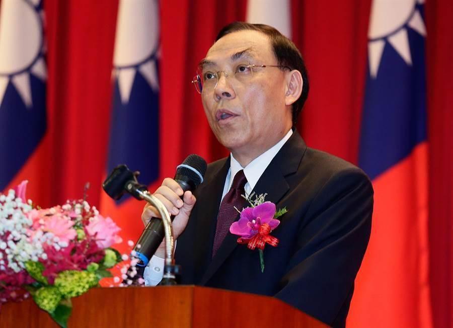 台灣法務部長蔡清祥。網上圖片