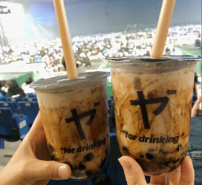 台灣傳入的珍珠奶茶今年成為日本人最愛。網上圖片