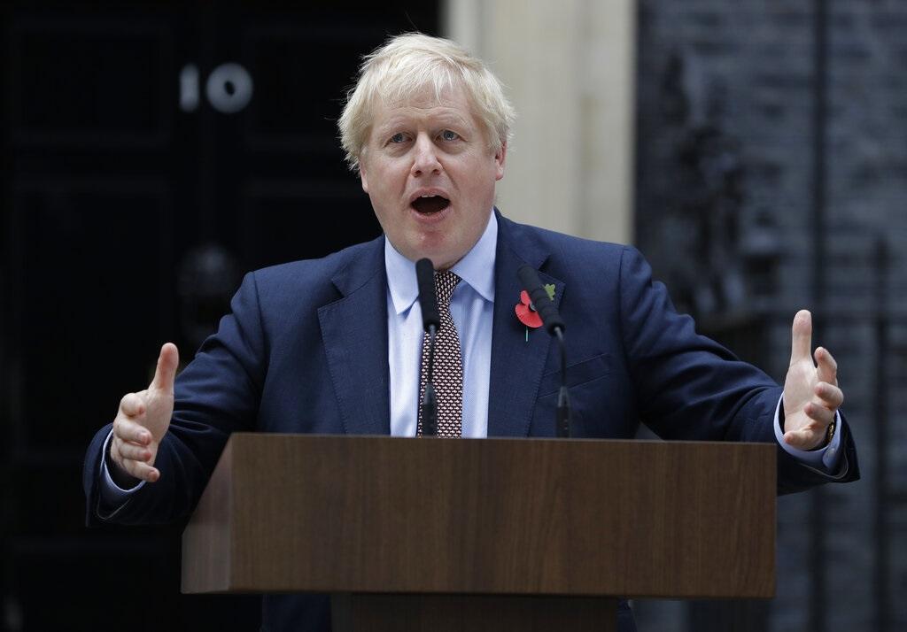 英國首相約翰遜。Ap圖片