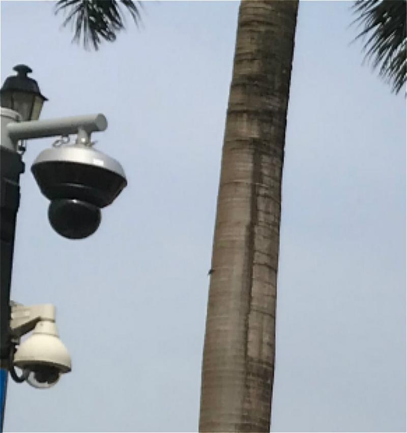 澳門街頭裝設「天眼」。網上圖片