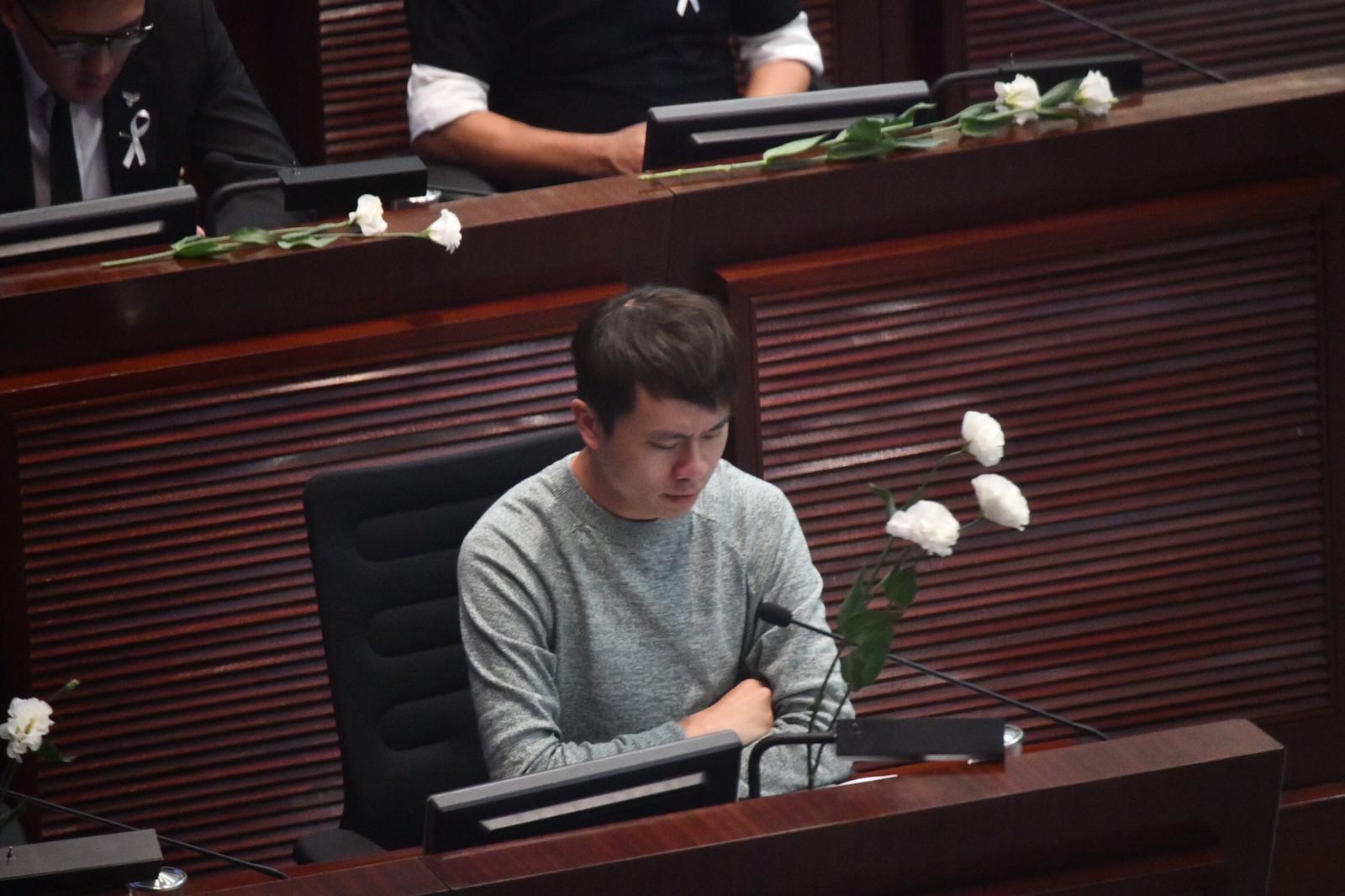 立法會議員鄺俊宇。