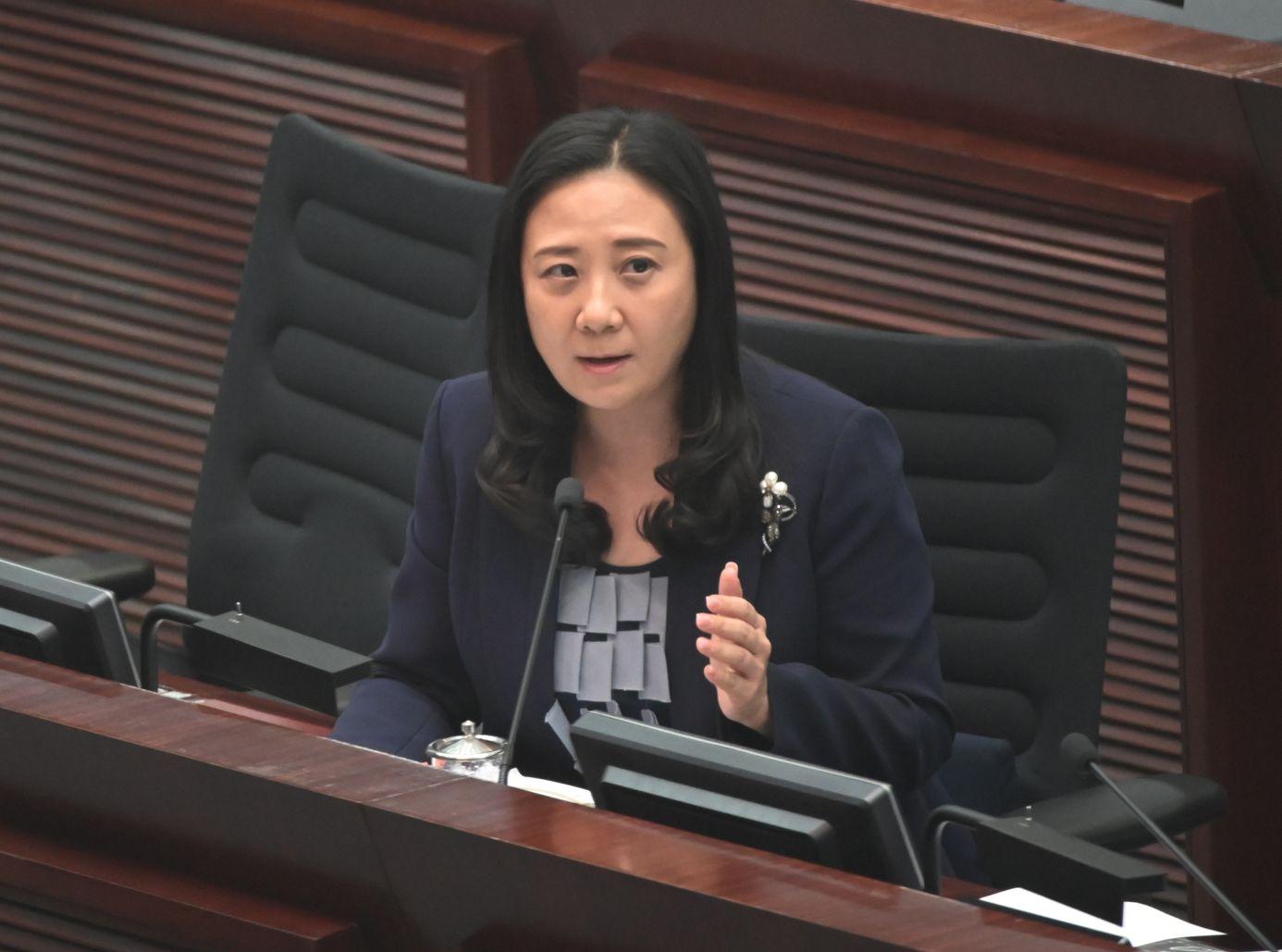 葛珮帆形容,目前是香港有史以來最暴力和最黑暗的競選期。資料圖片
