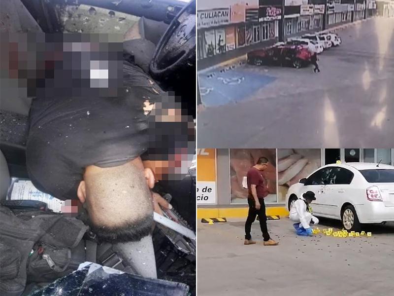 警員愛德華多被兩名槍手連轟逾150槍。(網圖)