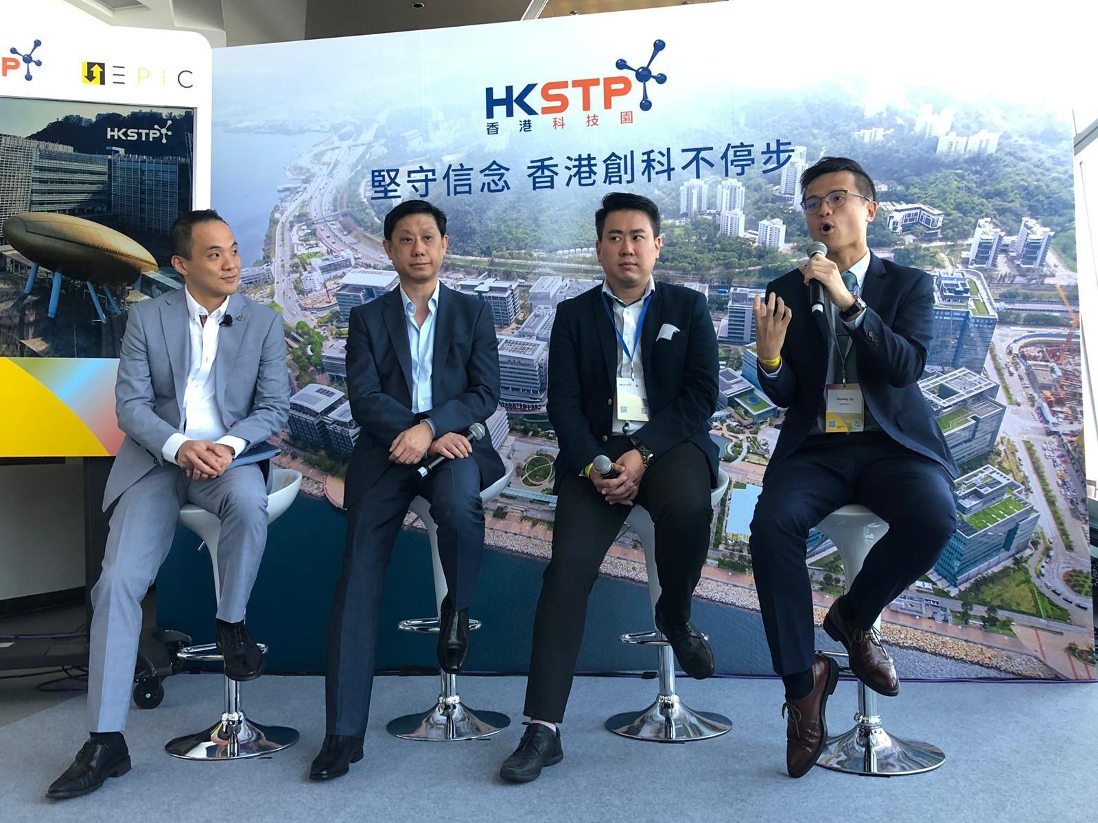 科技園CEO黃克強:投資氣氛較以往差 但暫未出現退租潮