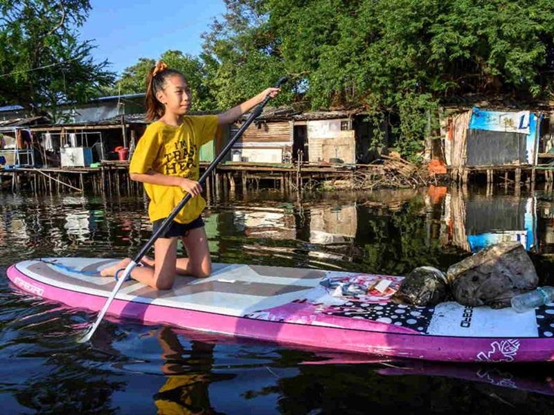 泰國12歲少女拉莉(Ralyn Satidtanasarn)。網圖