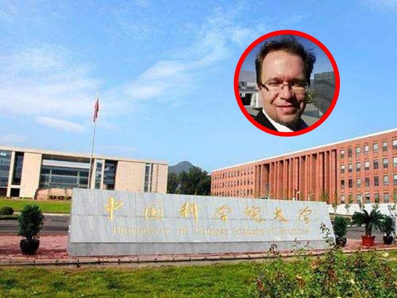 奧地利籍的Mark Kolars是中科院科學藝術團隊項目的聘用人員。網圖