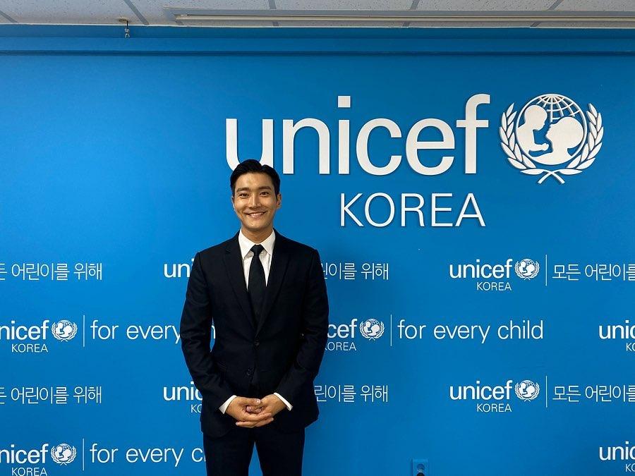 2015年,始源成為聯合國兒童基金會(UNICEF)韓國委員會特別代表。