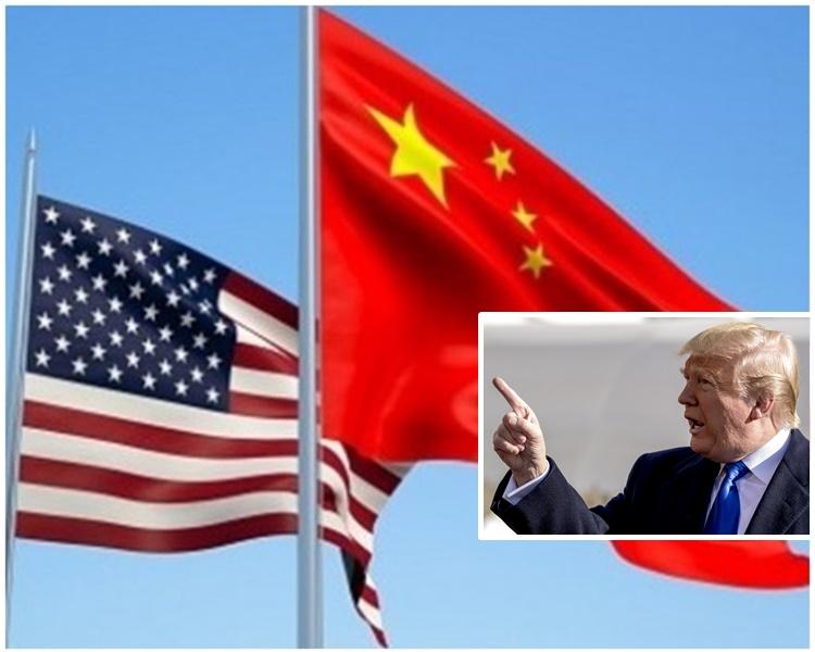 特朗普表示中國希望撤回關稅但他未有同意撤銷。AP